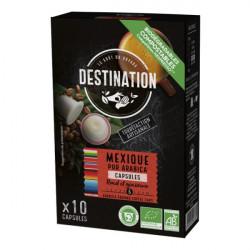 Kavove kapsule bio kava Mexico 100 arabica pre Nespresso