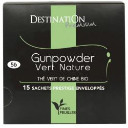 BIO čaj zelený Gunpowder...