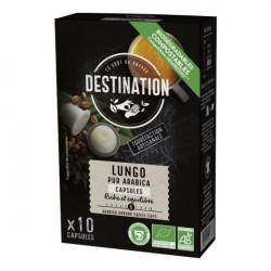 Kavove kapsule Lungo bio 100 arabica pre Nespresso