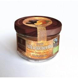 Čokoládová nátierka horká čokoláda s pomarančom