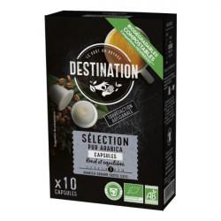 Kávové kapsule bio Selection nespresso arabica
