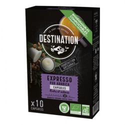 Kavove kapsule Grands Crus 100 arabica bio pre Nespresso